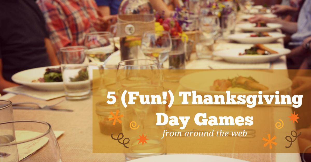 5 fun Thanksgiving Day games