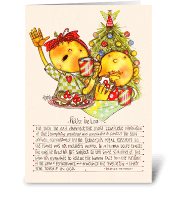 Christmas Cookies greeting card