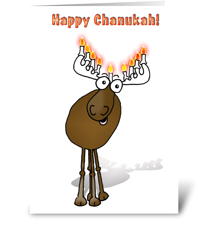 Happy Chanukah! greeting card