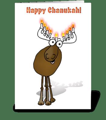 Happy Chanukah! greeting card