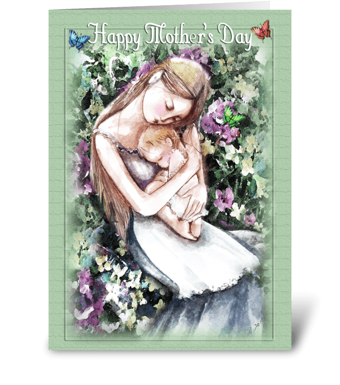 Mother's Day Greetings greeting card