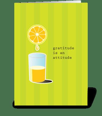 Lemons to Lemonade greeting card