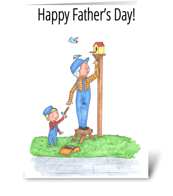 Happy Father's Day!! greeting card