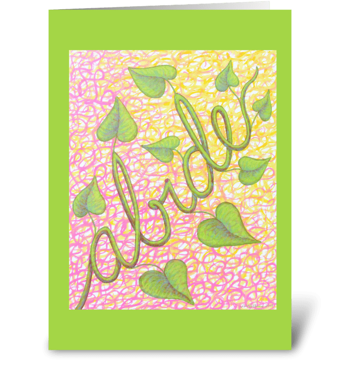 He Who Abides greeting card