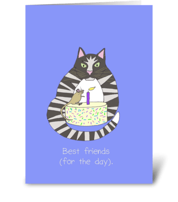 Best Friends Birthday greeting card