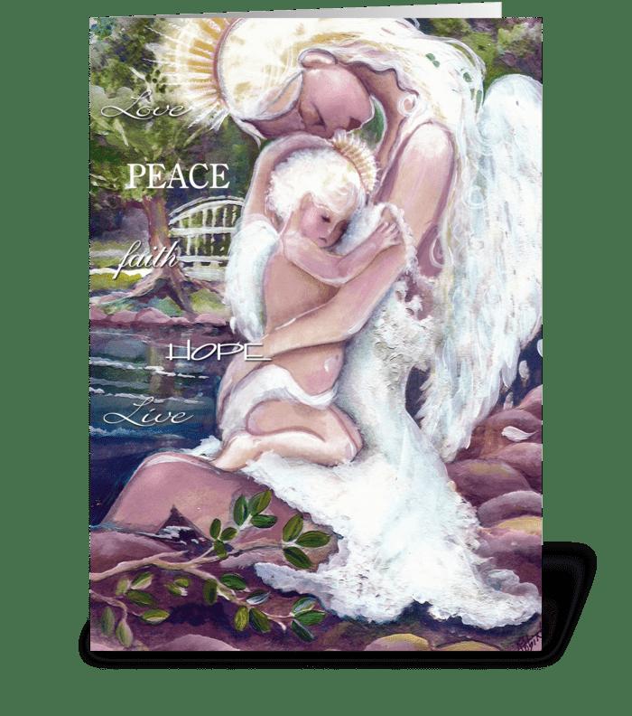Angels of Hope greeting card