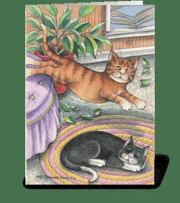 Bleepin Birthday #2 greeting card