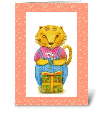 a gift for you greeting card