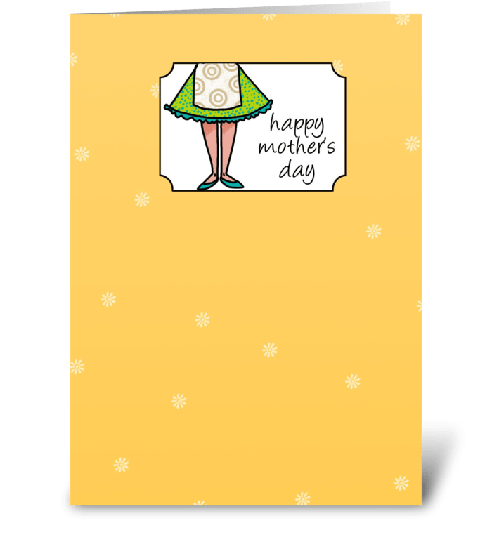50's Mom - Happy Mother's Day greeting card