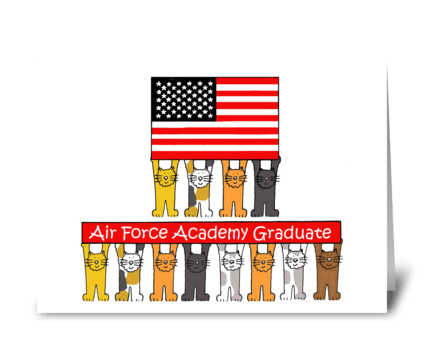 Air force academy congratulations. greeting card