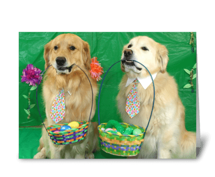 Eggcellent Easter Hunt greeting card