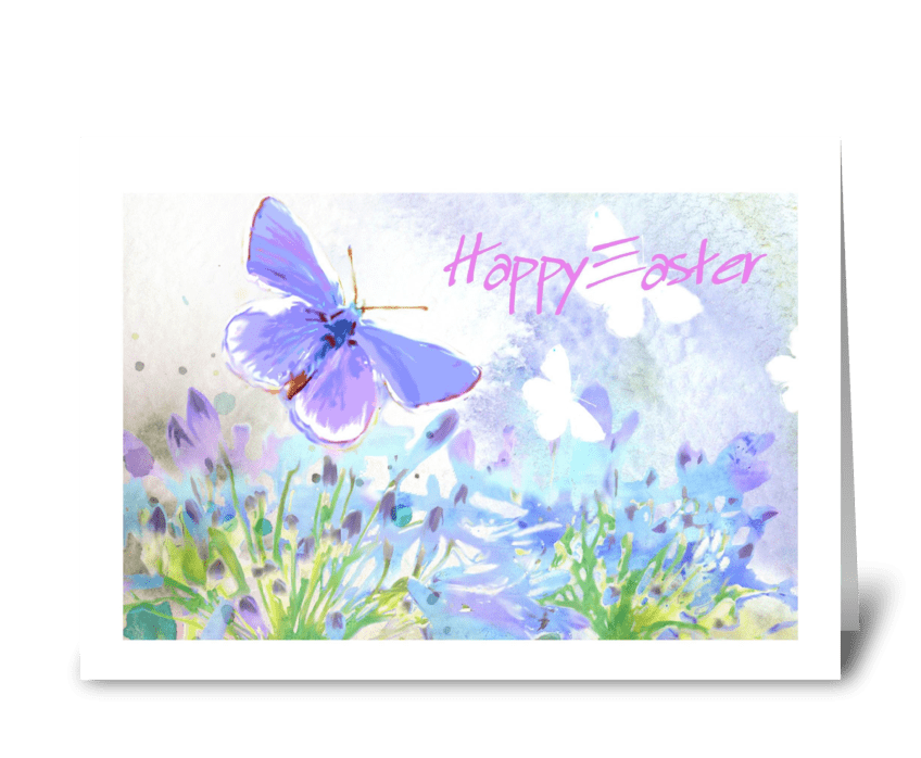 Spring Breeze, Happy Easter  greeting card