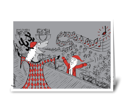 High Note Holiday greeting card