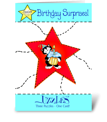 Birthday Surprise! greeting card