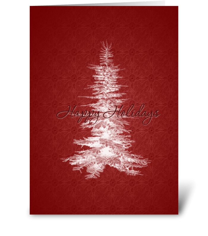 Oh Christmas Tree! greeting card
