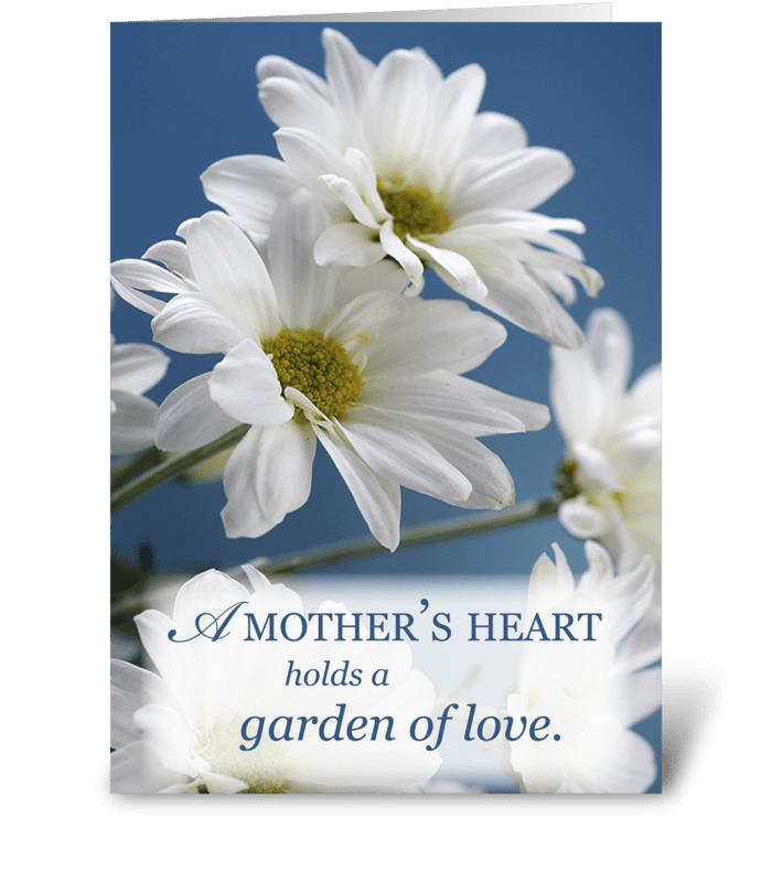 Mother's Day Garden of Love greeting card