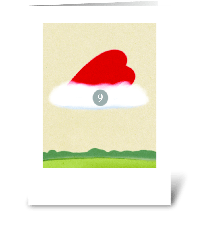 Cloud Nine greeting card