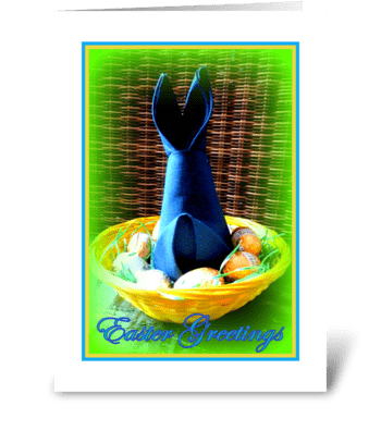 Easter Greetings greeting card