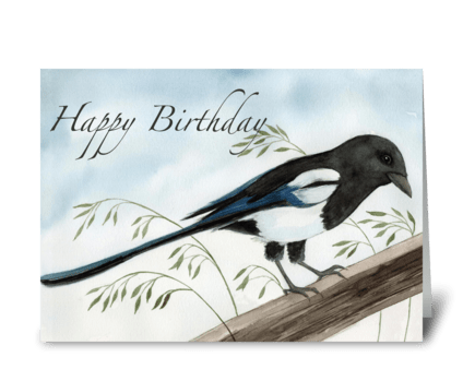 Breezy Day greeting card