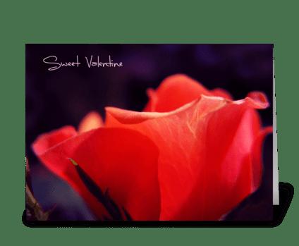 Sweet Valentine greeting card