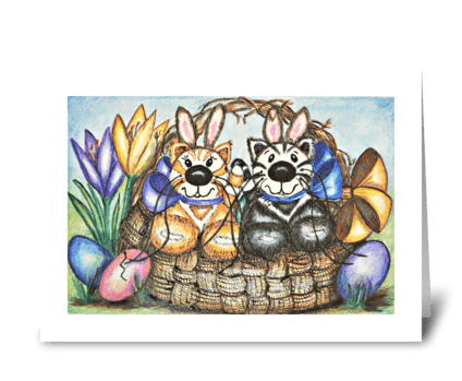 Jabber & Sweets Happy Easter! greeting card