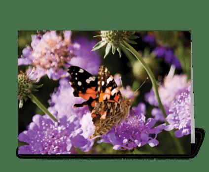Seasons: Late Spring greeting card