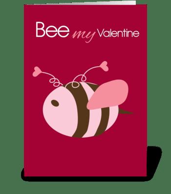 Mee My Valentine greeting card