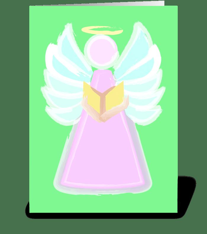 Angel of Peace greeting card