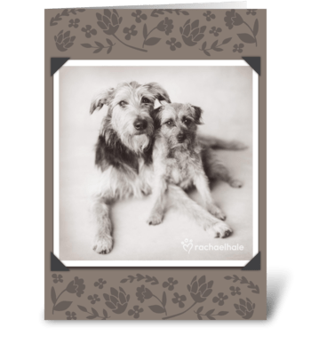 I Love You! Mom greeting card