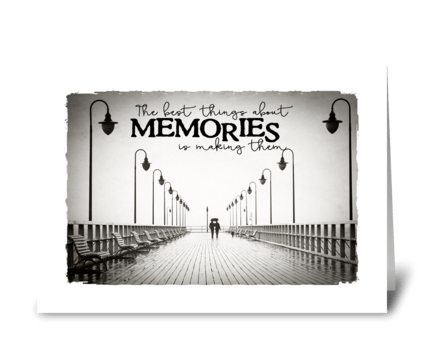 making memories greeting card