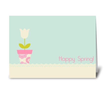 Easter cards page 2 card gnome happy spring greeting card m4hsunfo Images
