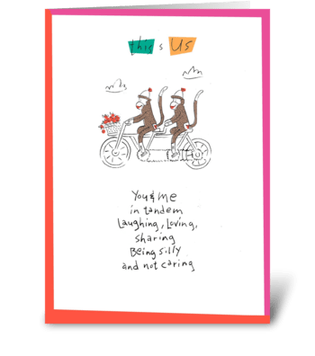 This is Us greeting card