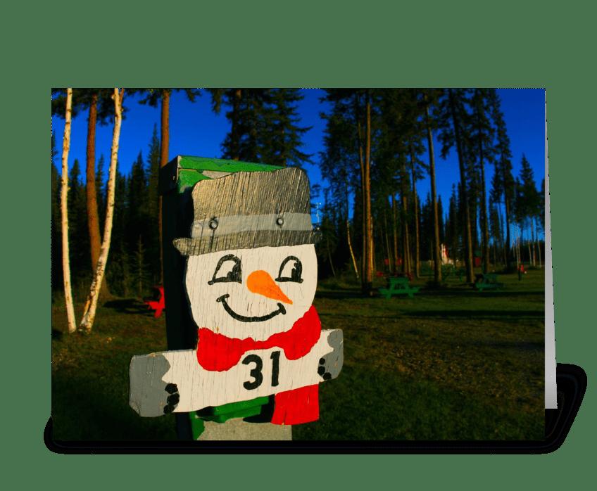 Santa Land RV Park greeting card