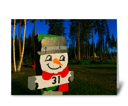 Santa Land RV Park greeting card