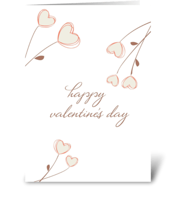 Love Blooms greeting card