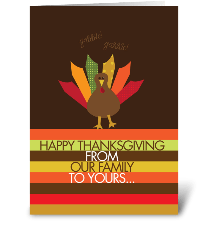 Ready for Turkey greeting card