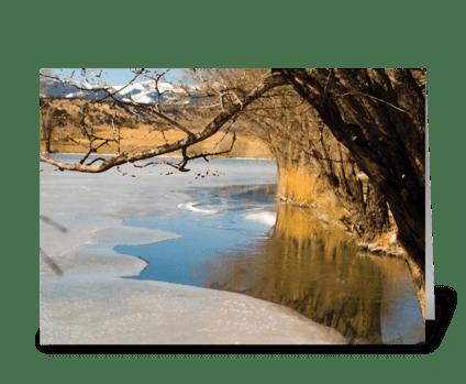 Seasons: Early Spring greeting card