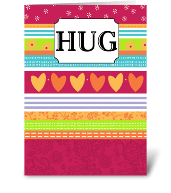 Big Hug - Thinking of You greeting card