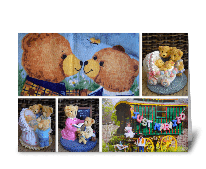 A Beary Tale Come True! greeting card