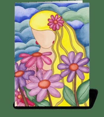 A wonderful woman greeting card