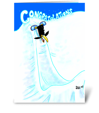Congratulations Card greeting card