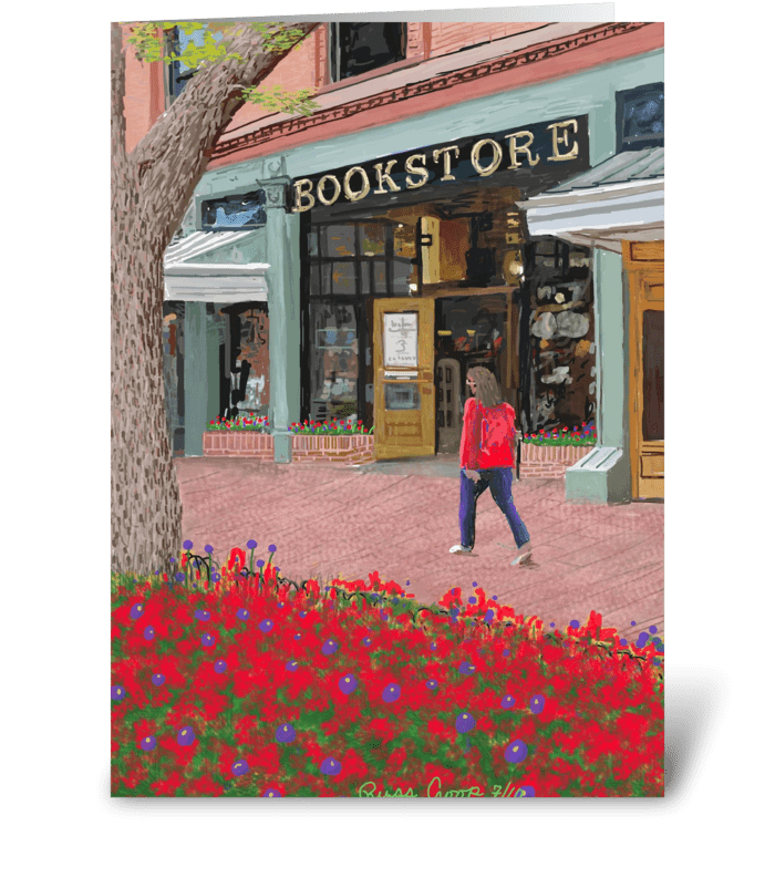 Boulder Bookstore greeting card