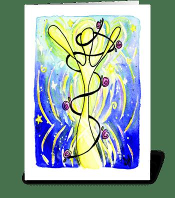 Celebrate! Decorate Soul greeting card