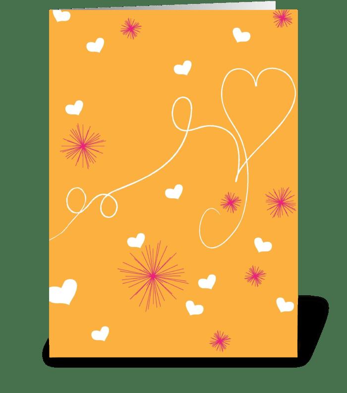 Heartstrings greeting card