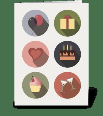 Birthday_set1 greeting card