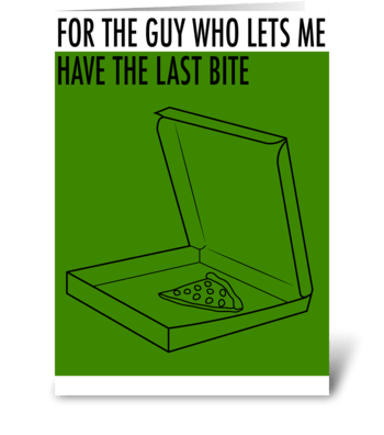 For the Guy who... greeting card