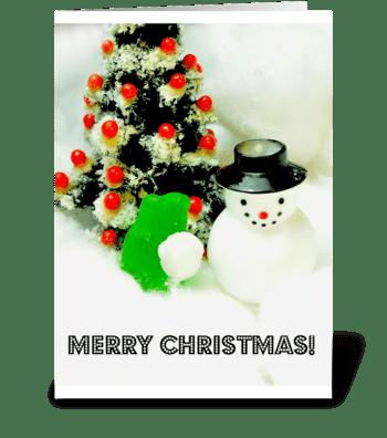 Jolly, Happy Gummy greeting card