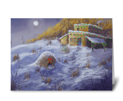 Adobe Christmas greeting card