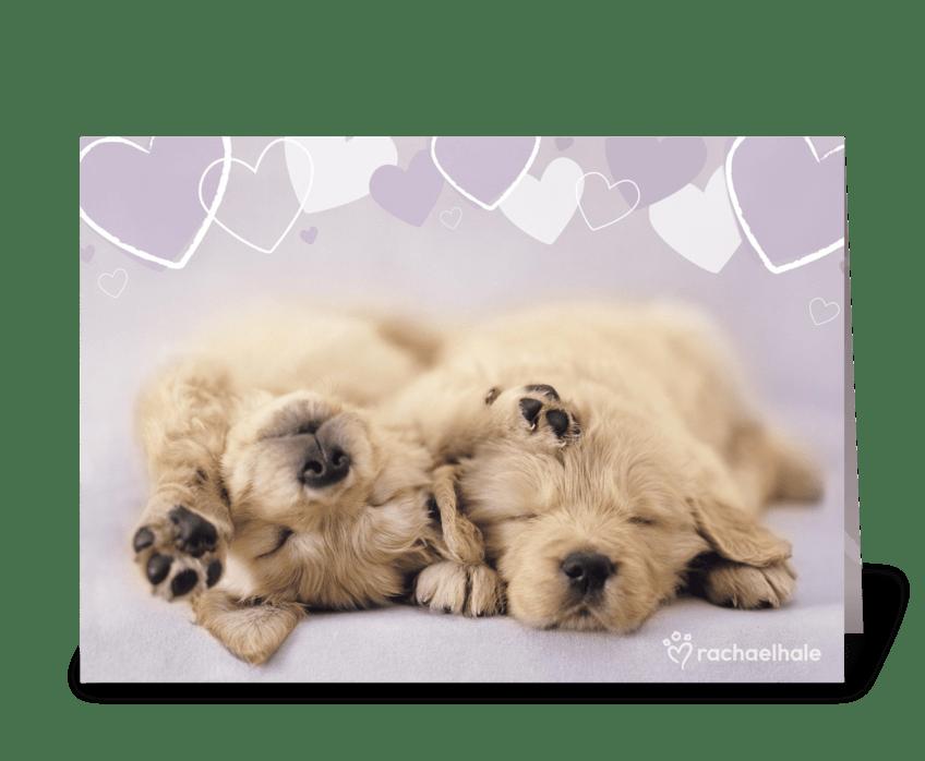 Love awakens your soul greeting card