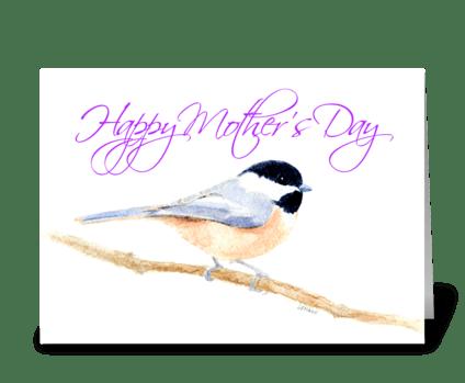 Mom's Love greeting card